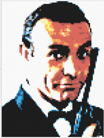 Perler Bead Portrait Patterns - Pixel Art Shop