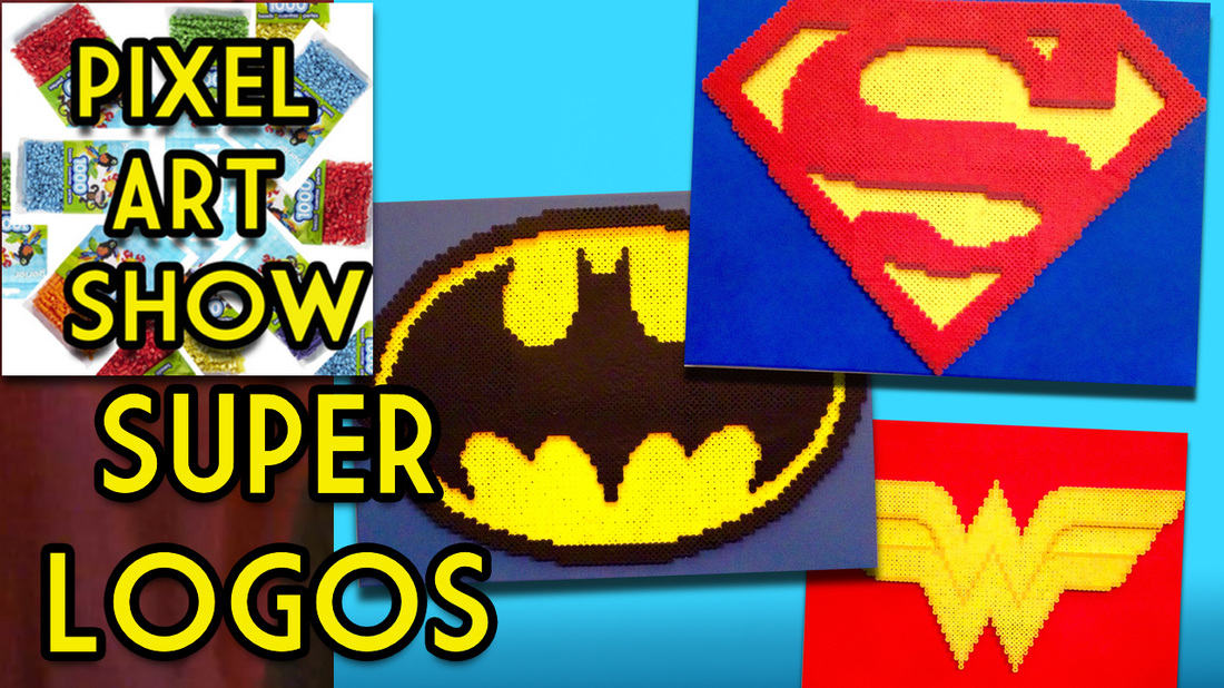 Perler Bead Tutorial Video How To Make 3d Superman Batman